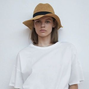 NEW Zara Woven Hat